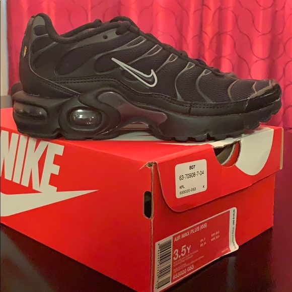 Nike Other - (SOLD) Nike Air Max Plus (GS) Size 3.5 NEW in Box